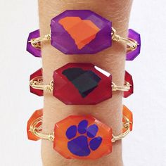 Clemson Tigers / South Carolina State / Orange and by ShopBPink