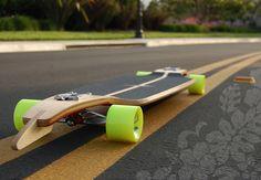 Longboard Larry Screamin' Mary by Soulcake , via Behance #longboard #board #design #skate #skateboard #bois #wood