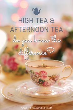High Tea and Afternoon Tea: Do You Know The Difference? High Tea and Afternoon Tea: Do You Know The Difference? Afternoon Tea Recipes, Afternoon Tea Parties, English Afternoon Tea, English High Tea, English Tea Time, High Tea Parties, Afternoon Tea Tables, Vintage Tea Parties, Afternoon Delight