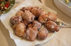 New Year's cookies (fritters)