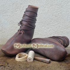 Viking shoes - Oseberg type