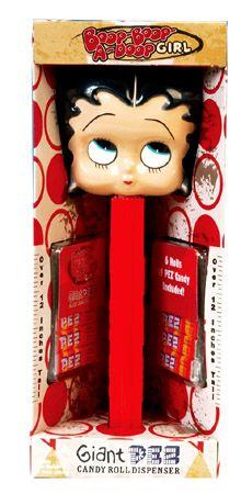 Giant Betty Boop Pez Dispenser.