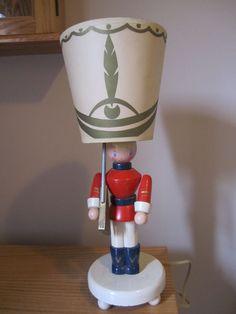 Vintage TOY SOLDIER Lamp - Original Shade Irmi