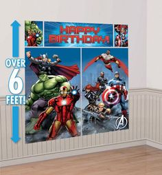 Avengers Party Supplies - Avengers Birthday - Party City  maybe?