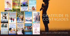 Season of Gratitude Giveaway and Sale #amreading #romance Win a Visa Gift Card ($20, $25, $75, or $100) or one of 2 Kindles