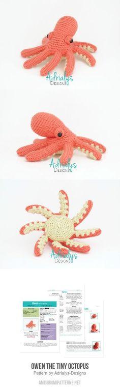 Owen The Tiny Octopus Amigurumi Pattern
