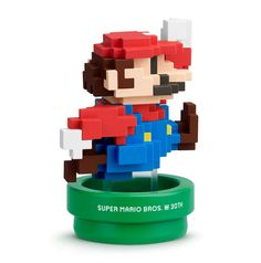 amiibo Mario 30. Geburtstag moderne Farben