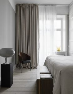 Home Decor Bedroom .Home Decor Bedroom Minimal Bedroom, Modern Bedroom, Swedish Bedroom, Bedroom Rustic, Master Bedrooms, Elegant Home Decor, Elegant Homes, Deco Studio, Swedish Interiors