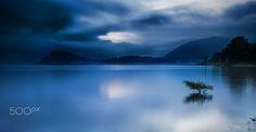 The Como Lake - sunrise at Como Lake