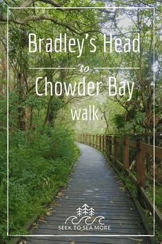 This is a beautiful walk close to the city, and within the Sydney Harbour National Park. Here is a guide to the Bradley's Head to Chowder Bay Walk. Sydney Australia, Australia Travel, Weekend Trips, Day Trips, Travel Oz, Travel Guide, Australian Road Trip, Great Walks, Hiking Spots