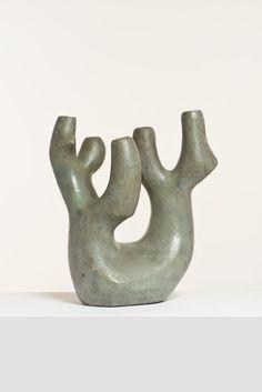 Valentine Schlegel; Glazed Ceramic Vase, 1950s.