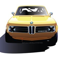 gashetka:  1974 | BMW 2002 TII | Art by François Leboine (Renault Design Team)
