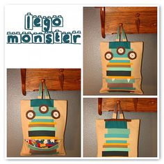 Lego Monster Bag
