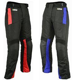 Hilbro Men's Motorbike Motorcycle Trousers Cordura Textile Waterproof Pants All Sizes/Weather