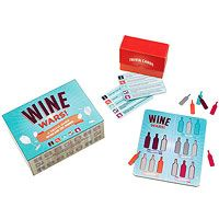 Wine Wars is a fun and fascinating trivia game that tests your knowledge of the fruit of the vine.    Perfect for those new to the world of wine, but challenging enough for the devoted oenophile, Wine Wars will have you swirling, sniffing, and sipping your way to vinicultural victory.