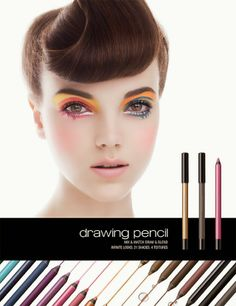 shu uemura Drawing Pencil Collection for Summer 2014 | Pretty Blossom