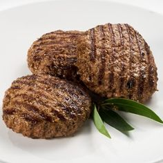 I made these tonight using the organic bison meat from Costco and they were delish!
