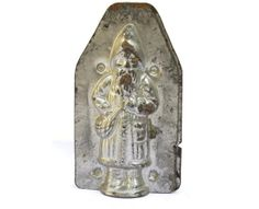 Antique French Chocolate Santa Claus Mold. by LeBonheurDuJour, $25.00