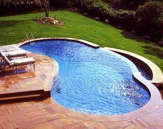 Above ground swimming pool decks