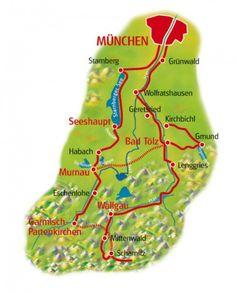 cool Map of Scharitz