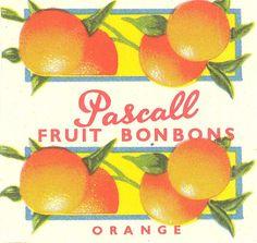 Artwork for Pascall orange fruit bonbons