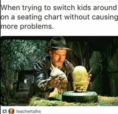 Indiana Jones is one of the oldest characters we have, famous for his hat and appearance. Make your own Indiana Jones costume with the help of merchandise. Indiana Jones, Pulp Fiction, Exams Memes, Teacher Humour, Classroom Humor, Classroom Ideas, Teaching Memes, Teaching Resources, Teaching Ideas