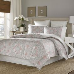Stone Cottage Ibiza 100-percent Cotton Sateen 4-piece Comforter Set - Overstock™ Shopping - Great Deals on Stone Cottage Comforter Sets