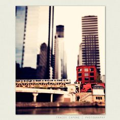 Chicago prints  boys room train decor urban wall by TraceyCapone, $30.00...this is totally rad