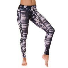 Onzie Long Leggings - Skyline {Click to Shop!} -- Love these cute yoga/Pilates leggings!!