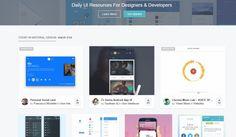Ver uplabs, miles de recursos para programadores y diseñadores actualizados a diario