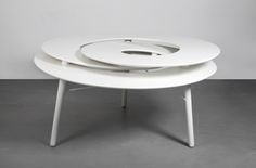 Rollercoaster table,  2014 Coffe Table, Dining Table, Vitra Design Museum, 3d Printing, Furniture, Tables, Home Decor, Coffee, Impression 3d