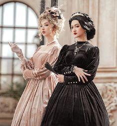 Lost Angel -Bolangte- Vintage Classic Lolita OP Dress Lolita Dress, Lost, Angel, Classic, Vintage, Dresses, Fashion, Derby, Vestidos