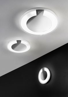 Allum LED small wall and ceiling lamp by Antealuce