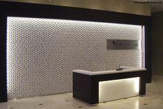 Japanese Ceramic Tiles, Installations, Flowercircle Case 8