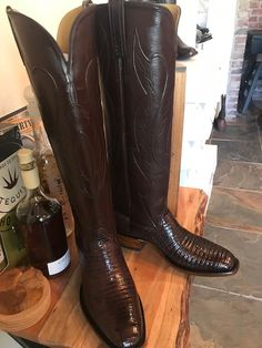 Custom Cowboy Boots, Cowgirl Boots, Western Boots, Riding Boots, Buckaroo Boots, Mens Attire, Boot Types, Tall Boots, Over The Knee Boots