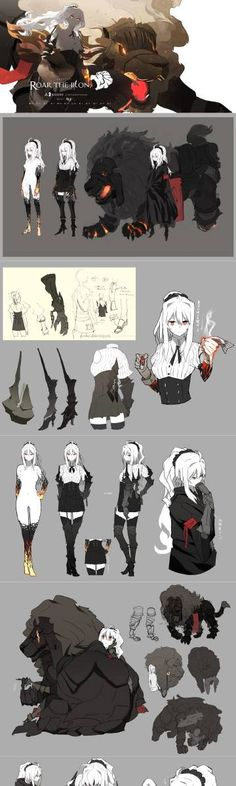 Animated :: Drawing :: Character Design