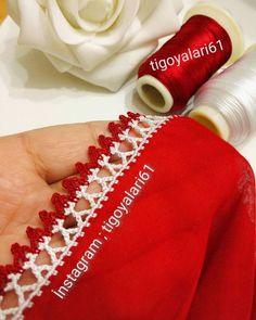 Crochet Edging Patterns, Crochet Lace Edging, Crochet Designs, Needle Lace, Tatting, Needlework, Embroidery, Stitch, Instagram