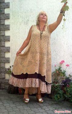 Мое воплощение шитой работы. Давно мечтала воплотить шитую модель в вязаную! Мечты сбываются! И не только мои! Благодарю Оленьку за заказ такой интересной вещи.