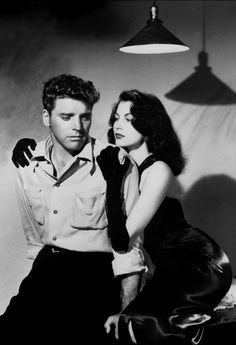 The Killers: Directed by Robert Siodmak. Burt Lancaster and Ava Gardner.