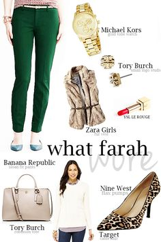 Rustic Chic: What Farah Wore 11.5.14