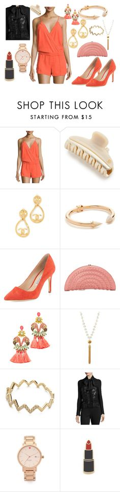 """Sunny days"" by hillarymaguire ❤ liked on Polyvore featuring On the Road, Alexandre de Paris, Vita Fede, Charles David, Elizabeth Cole, Fragments, EF Collection, ESCADA, Kate Spade and Georgia Perry"