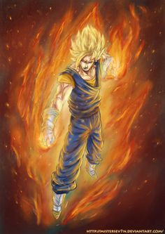 Super Saiyan Vegito - DBZ by *MisterSev7n on deviantART