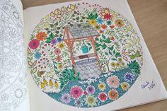 livro jardim secreto johanna basford | ProjetoJardimSecreto – Jardim Secreto, de Johanna Basford.