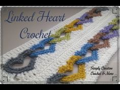 Crochet Linked Heart Pattern | Interlocked Hearts