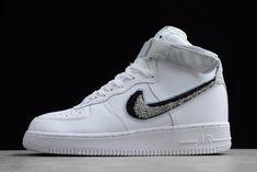 "Nike Air Force 1 High  07 LV8 ""Chenille Swoosh"" White Pure Platinum. Jordan  Shoes For SaleCheap ... 3670d3c84"