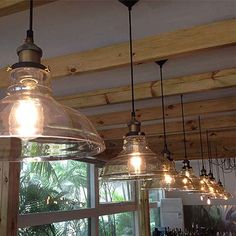 Modern Vintage Industrial Retro Loft Glass Ceiling Lamp Shade Pendant Light for sale online Modern Ceiling Light, Bedroom Light Shades, Ceiling Lights, Ceiling Lamp Shades, Ceiling Light Shades, Vintage Light Bulbs, Glass Ceiling Lamps, Pendant Light, Retro Chandelier