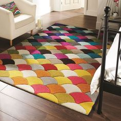 Tapis jive multicolore flair rugs 80x150