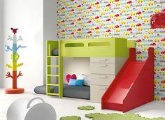 Las 6 camas infantiles más originales y espectaculares. #habitacions #originales