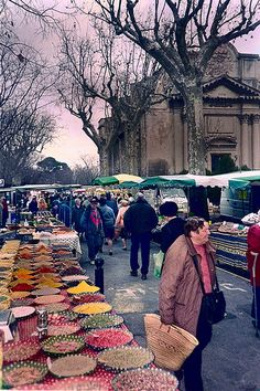 Arles Market - the best ever!  Always wanted to go back to it again.
