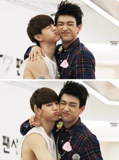 【 GOT7 】 Mark, Tuan, Junior, jr, Park, Jinyoung, skinship, cute